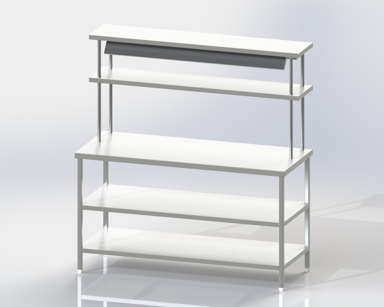 Pick up Table with 2u-s and 2 o-s