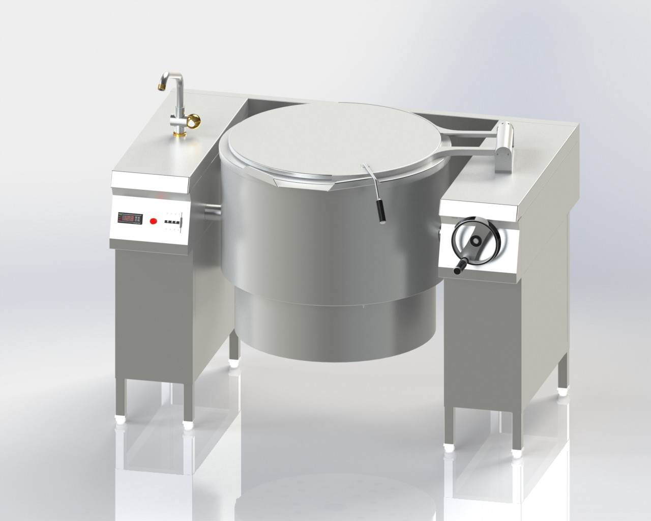 Tilting Boiling Pan (Electrical)