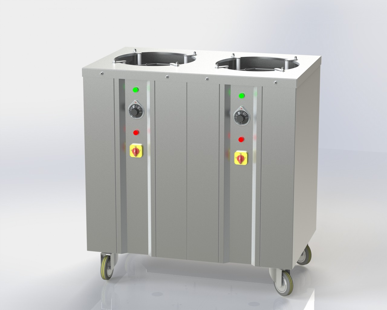 Hot Plate Dispenser 120 plates